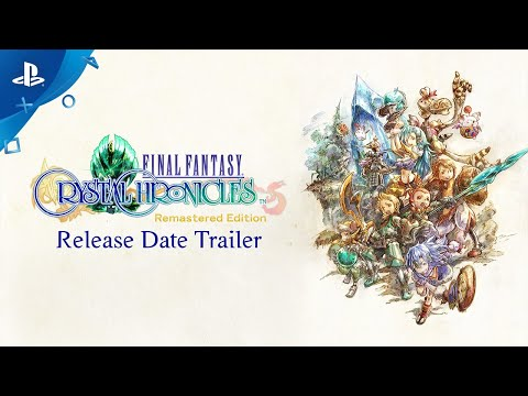 Final Fantasy Crystal Chronicles Remastered Edition Hits PS4 August 27 With New Features