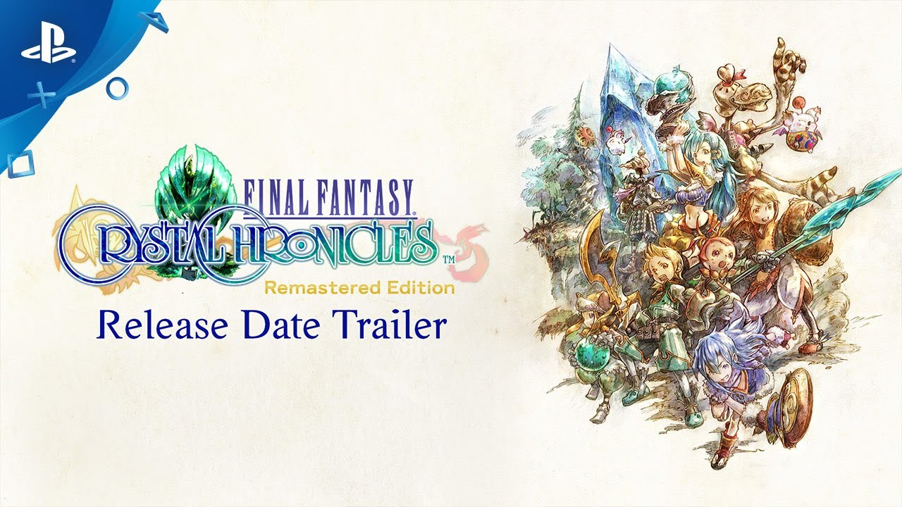 Final Fantasy Crystal Chronicles Remastered Edition Chega Para PS4 em 27 de Agosto