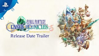 PlayStation Final Fantasy Crystal Chronicles Remastered Edition - Release Date Announce Trailer  anuncio