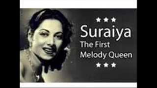 Jab se chale gaye hain wo .Suraiya in Film Natak (1947