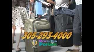 Paradise Porters, Key West's Luggage Storage & Delivery Service Advertises On WEYW Channel 19