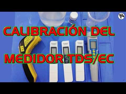 Calibrar su tester de TDS & EC o medidores de conductividad Electríca en PPM