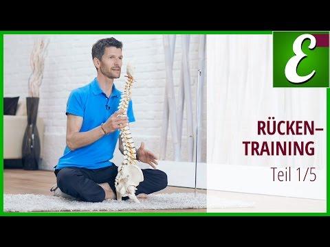 Die besten Übungen gegen Rückenschmerzen (Teil 1 von 5) — Becken ausrichten