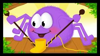 Une araignée sur le plancher - 1h de comptines avec les Titounis pour les enfants