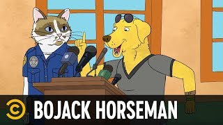 "Mr. Peanutbutter Steals the ""D"" - BoJack Horseman"