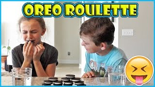 OREO ROULETTE CHALLENGE | We Are The Davises