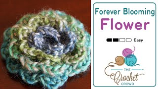 Crochet Forever Blooming Flowers Pattern