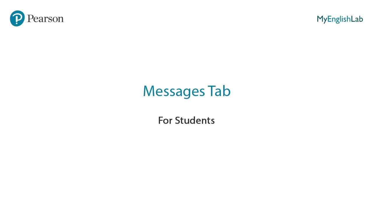 Message Tab
