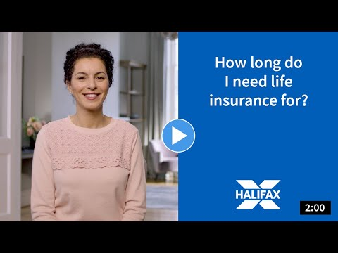 A video about how long you may need life insurance.