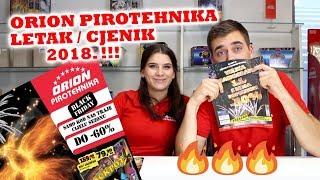 ORION PIROTEHNIKA LETAK (CJENIK) 2018.!!!