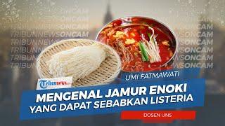 Mengenal Jamur Enoki yang Dapat Sebabkan Listeria
