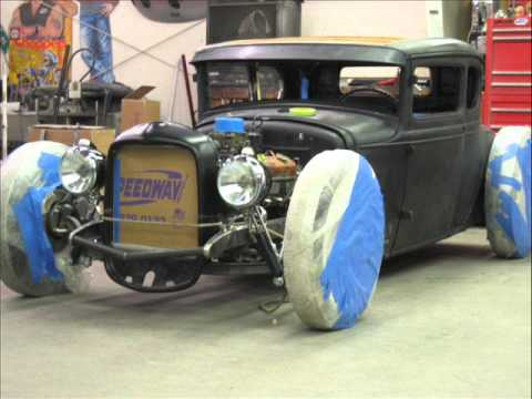 Model A Coupe Build Willie Moore StreetRodding.com