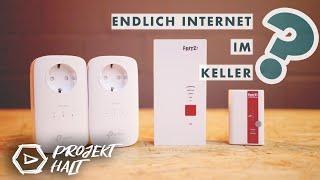 Endlich Internet im Keller? Wir zeigen euch, wie es geht!