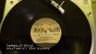 Sampled Vinyl 022. BARRY WHITE´S ¨LOVE SERENADE¨
