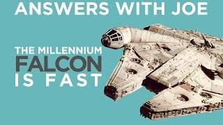 Can We Build A Ship As Fast As The Millennium Falcon? | Answers With Joe