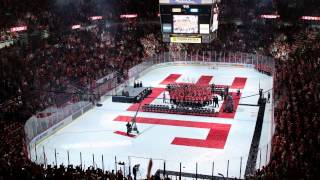 """Don't Stop Believin'"" One last time at Joe Louis Arena-- Detroit Red Wings  * HIGH QUALITY*"