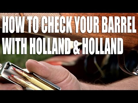 How to check your rifle barrel