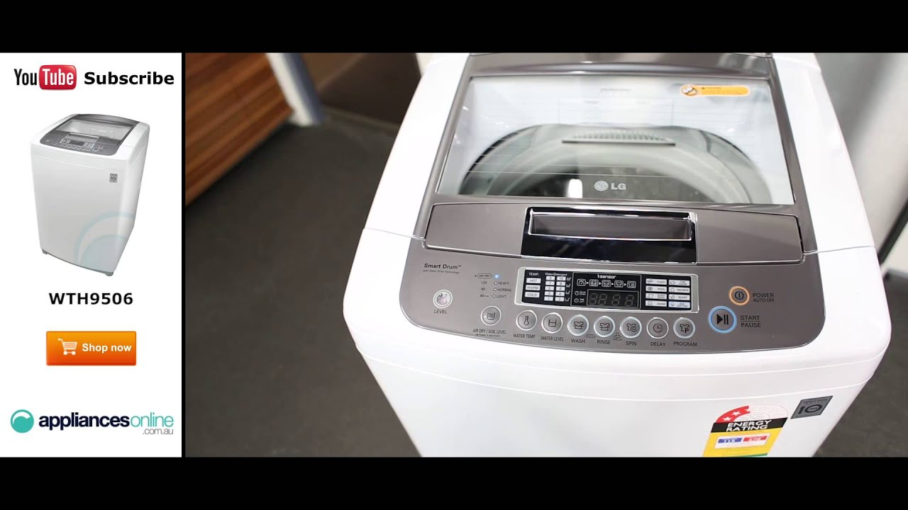 Which Is The Best Top Loading Washing Machine Lg Wth9506 95kg Top Load Washing Machine Appliances Online