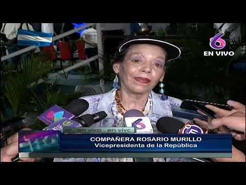 """Compañera Rosario: Triunfo de """"Chocolatito"""" es otra victoria de la paz para Nicaragua"""