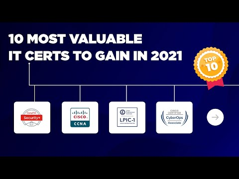 Top 10 Hot IT Certs for 2021 - YouTube