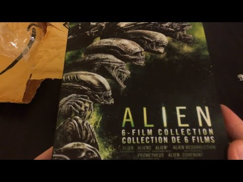 Alien 6 Film Blu-ray Collection Unboxing