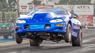 NEW RECORD - 6-Speed Turbo Camaro goes 8.63 @ 158mph!!!