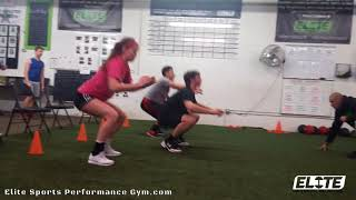 Seated Vertical Jumps for Explosive Power