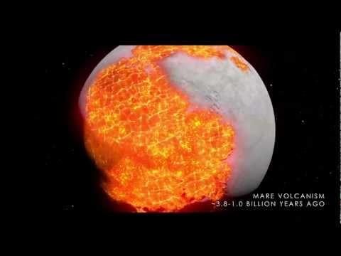 Ay'ın milyarlarca yıldaki oluşumu