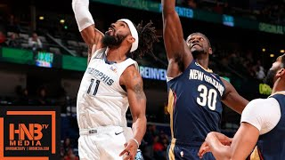 Memphis Grizzlies Vs New Orleans Pelicans Full Game Highlights | 12.07.2018, NBA Season