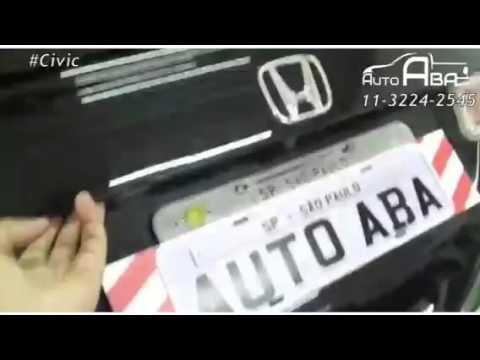 Aerofólio Honda Civic 2012 2013 2014 2015 2016 - AutoAba - AutoAba