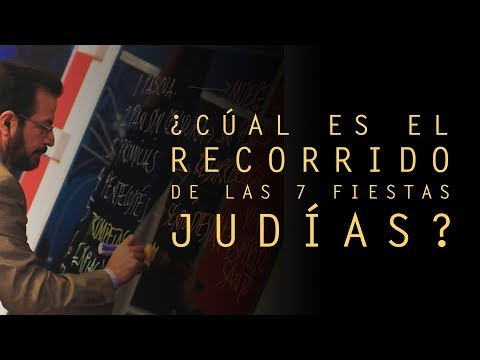 ¿Cuál es el recorrido de las Siete Fiestas Judías?