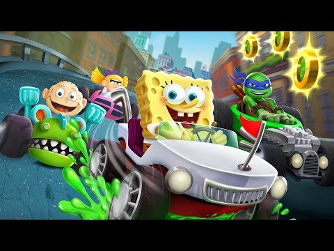 Nickelodeon Kart Racers Announce Trailer thumbnail