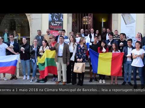 columbofilia, encerramento troféu festa das cruzes 2018, em barcelos
