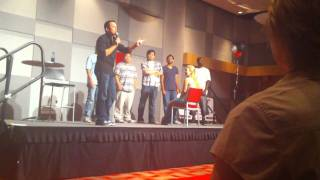 Steve Byrne Forms A BoyBand at UNLV - Video Youtube