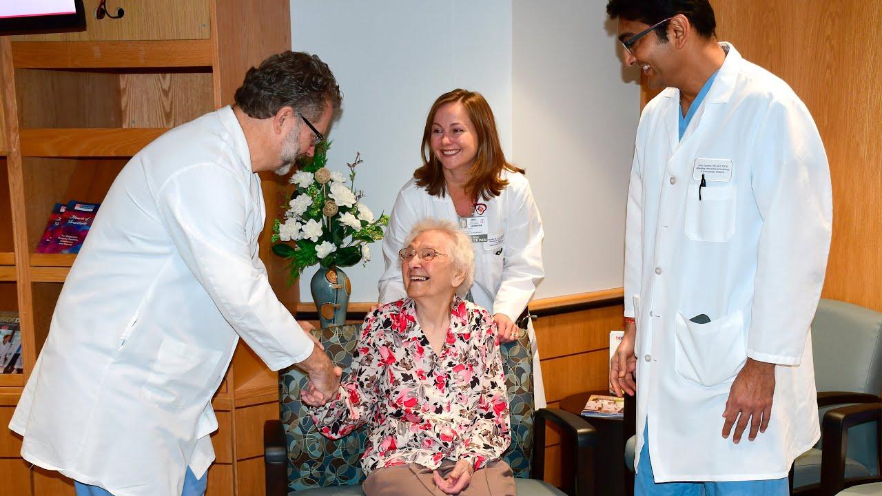 100 Year Old Gets a New Heart Valve at Deborah