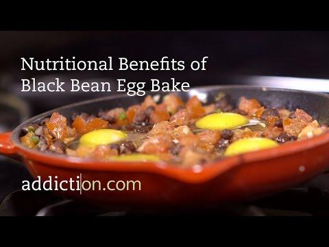 Benefits of Black Bean Egg Bake