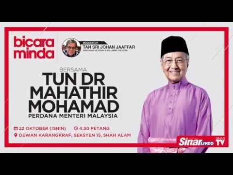 'Bicara Minda' with Tun Dr. Mahathir