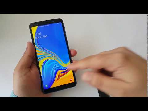 Samsung A7 2018 password reset, forgot password recovery - смотреть