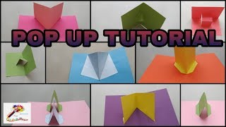 Popup Tutorial 1 - Basic Pop Up Craft |Pop Up Card | 3D Popup Craft | Popup Craft |SS Craft Mantra 1