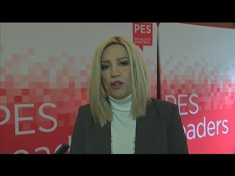 Φ. Γεννηματά:Αρκετά με την ανοχή στον Ερντογάν. Ζητώ έμπρακτη συμπαράσταση από τους ηγέτες της ΕΕ