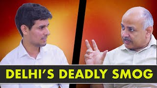 Manish Sisodia Exclusive Interview with Dhruv Rathee | Smog in Delhi & Odd-Even