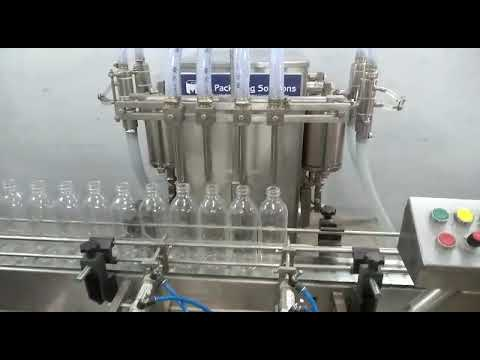 Inline Liquid Filling Machine