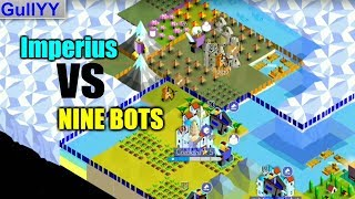 Imperius Vs. 9 Crazy Mode Bots | The Battle of Polytopia Gameplay