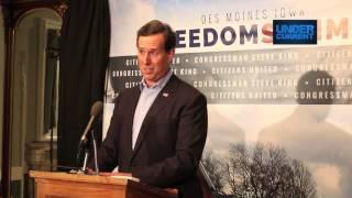 Rick Santorum: Strengthen Families, But Not Gay Ones