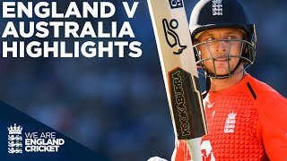 Jos Buttler Smashes Second Fastest T20 50! | England v Australia HIGHLIGHTS Edgbaston 2018