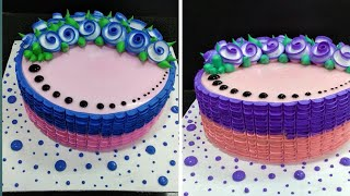 Best Birthday party Cake Decorating | New Cake Design 2020 | Making By Sunil Cake Master