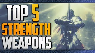 Dark Souls 3: Top 5 Best Strength Weapons