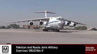 Russia and Pakistan military exercise
