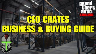 GTA Online CEO Crates Business & Buying GUIDE