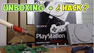 🕹️ UNBOXING ANALISIS E INTENTO DE HACK de la Playstation classic mini ( ps1 mini)